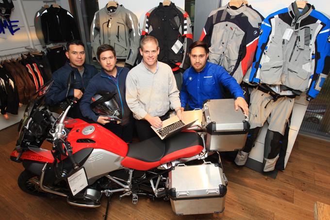 E-COMMERCE BMW MOTORRAD : HASTA LOS LUGARES + REMOTOS