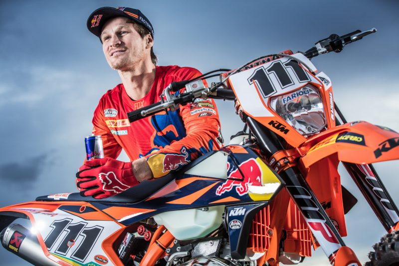 EL GRAN TADDY BLAZUSIAK CONFIRMA REGRESO AL ENDUROCROSS