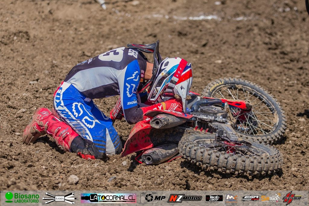 ESLOVENO GAJSER (HONDA-FOX) ENTRÓ AL CLUB DE LOS TRICAMPEONES MX; FOTOS EXCLUSIVAS!