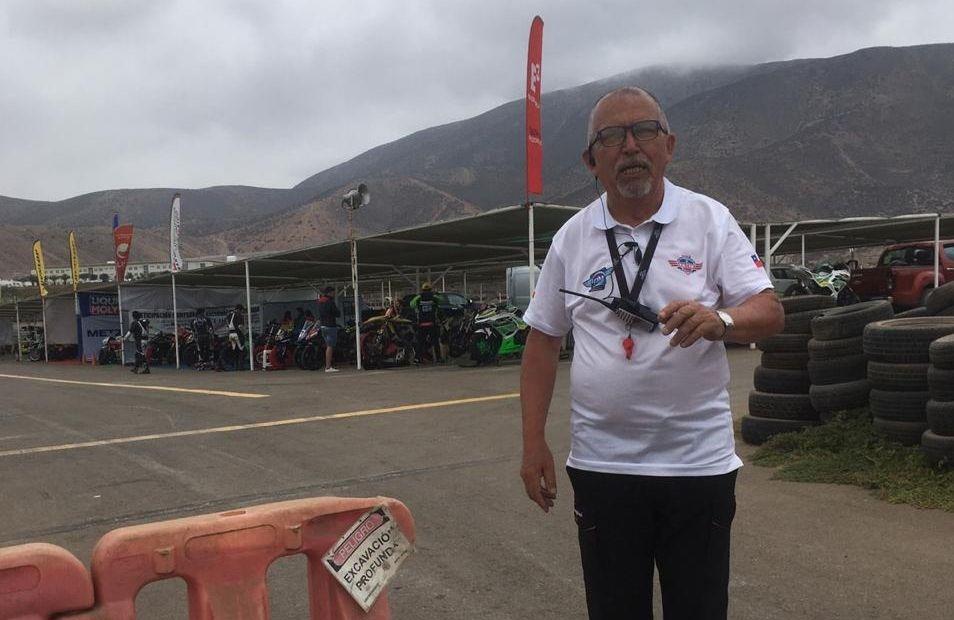 JEFE DE COMISARIOS DE LA FMC, JUAN VIVANCO, 2° CONTAGIADO DE LAS MOTOS CON COVID-19