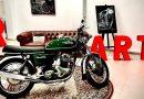 COMO SOIS UNOS INTELECTUALES, ESTA EXPOSICIÓN MOTORCYCLE ART OS VA A GUSTAR